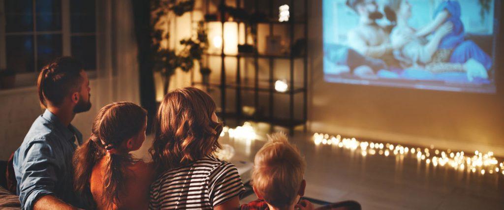kino w domu dzień matki